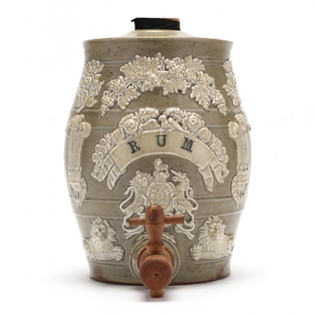 antique-stoneware-rum-dispenser