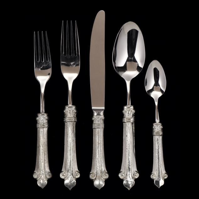 arte-italica-i-giglio-i-pewter-flatware-service