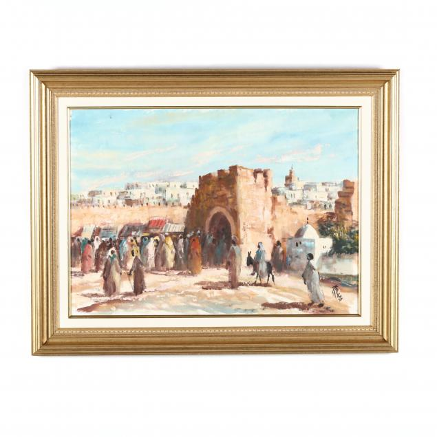 a-contemporary-painting-of-a-market-in-north-africa