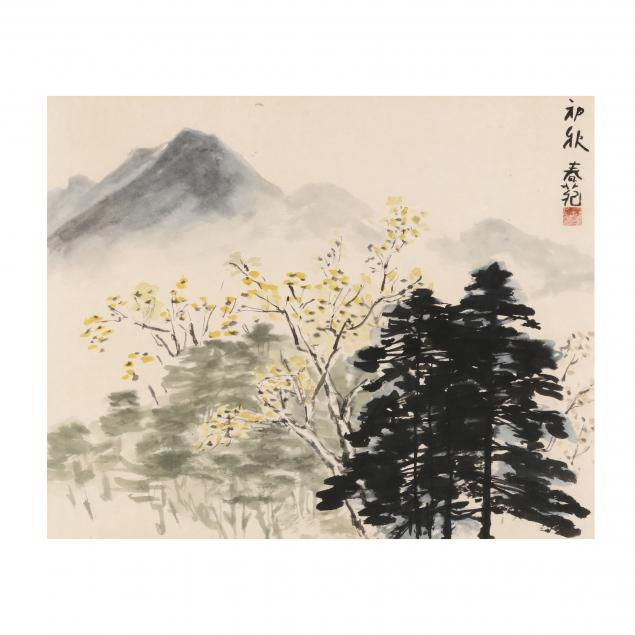 a-chinese-watercolor-painting-of-spring-landscape