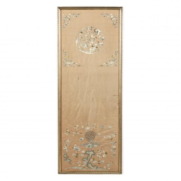 a-chinese-qing-dynasty-silk-embroidered-panel