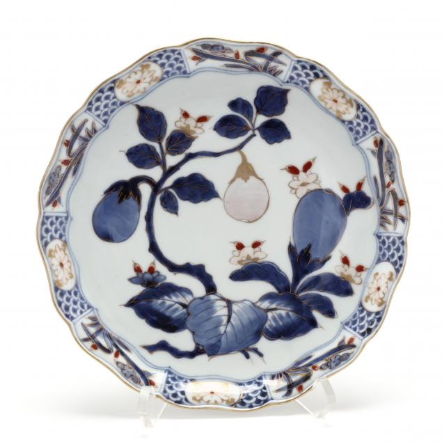 a-japanese-imari-plate-with-aubergines