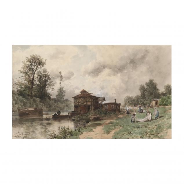 eugene-ciceri-french-1813-1890-washerwomen-by-the-riverbank
