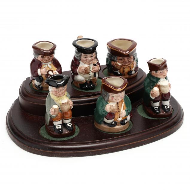 set-of-six-miniature-toby-mugs-by-royal-doulton