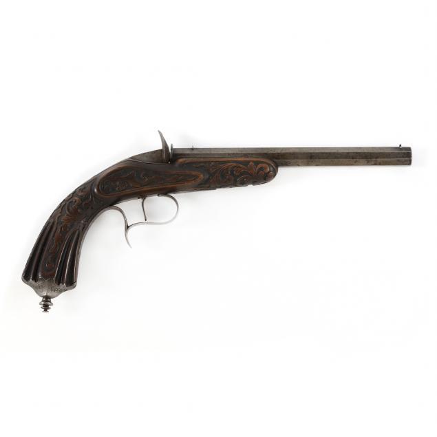 french-flobert-single-shot-breechloading-pistol