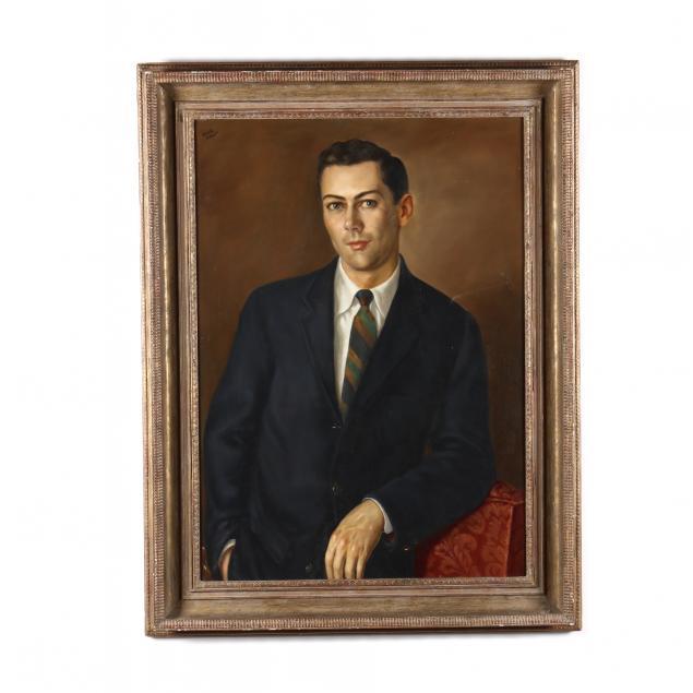 vintage-portrait-of-carl-milton-barnes-nc-1924-1978