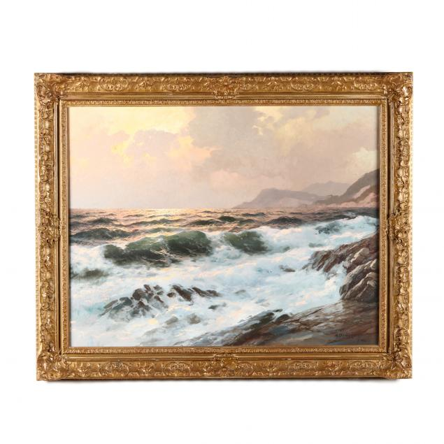 alexander-dzigurski-american-1911-1995-seascape-at-sunset