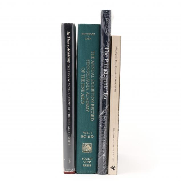 four-books-on-fine-art-in-pennsylvania