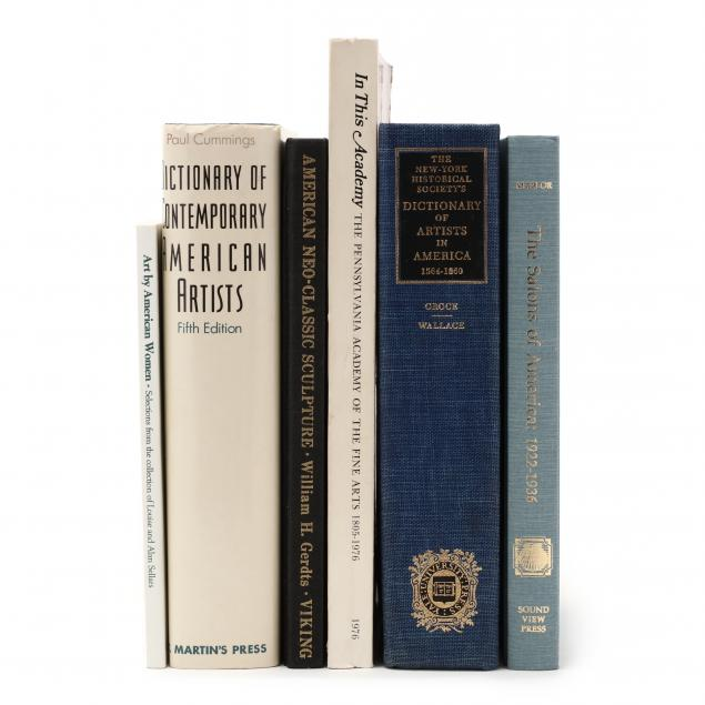 six-books-on-fine-art-in-america