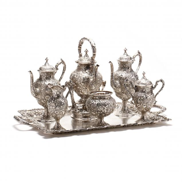 the-loring-andrews-company-antique-sterling-silver-tea-coffee-service-with-tray