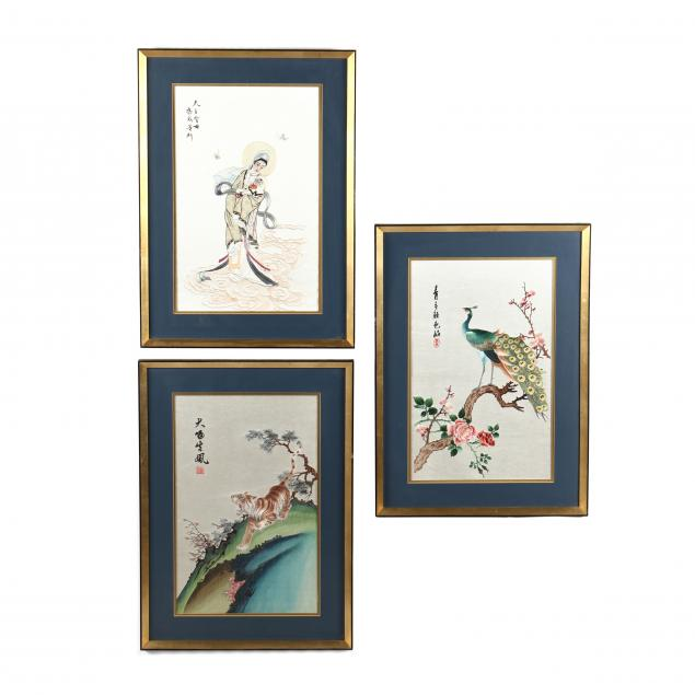 three-asian-embroideries