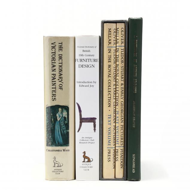 three-books-on-british-fine-art-and-one-on-british-furniture-design