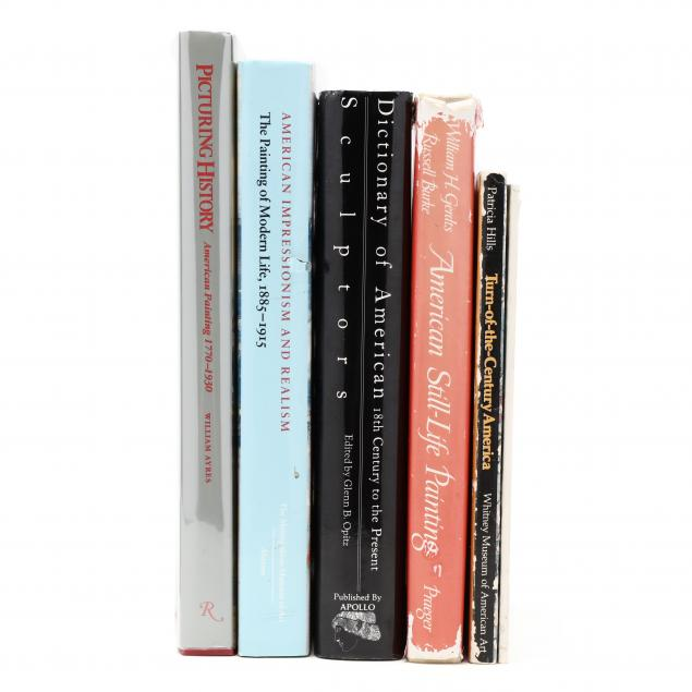 six-titles-on-various-aspects-of-american-art