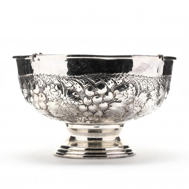large-silverplate-punch-bowl
