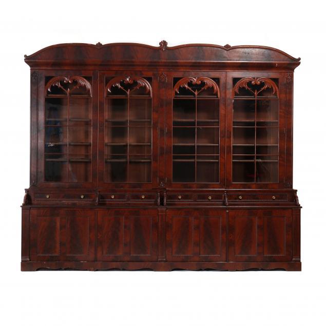 late-federal-mahogany-large-bookcase