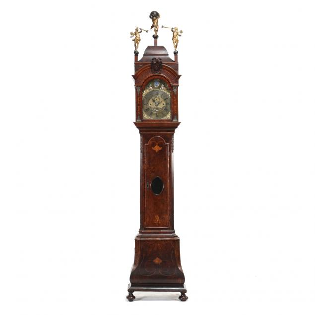 dutch-marquetry-inlaid-tall-case-musical-clock-roger-dunster-amsterdam