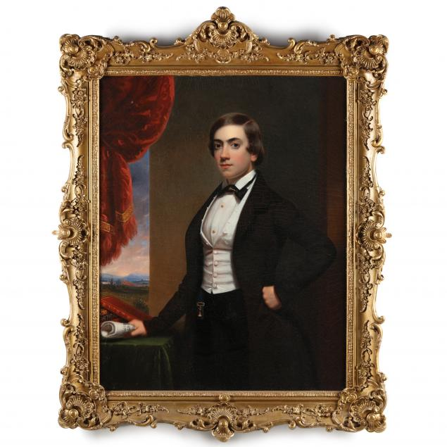 frederick-r-spencer-american-1806-1875-portrait-of-a-musician