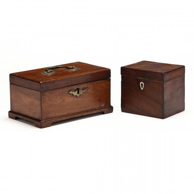 two-antique-english-mahogany-boxes