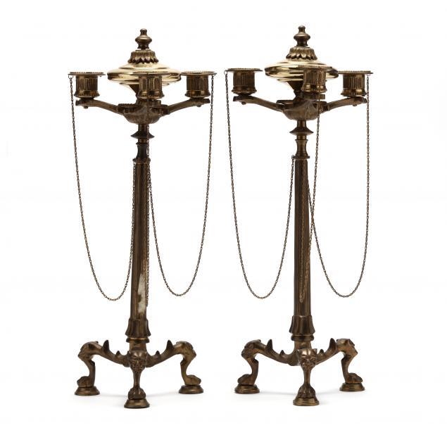 pair-of-continental-brass-candelabra