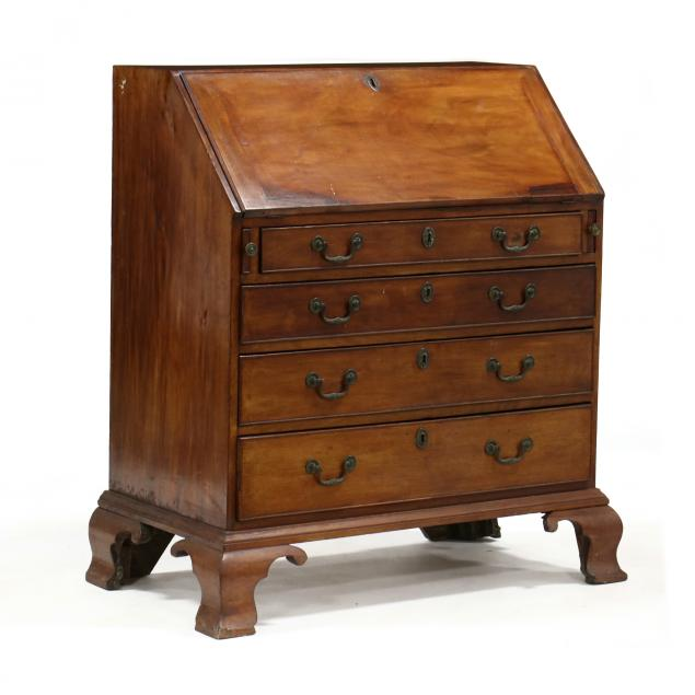 english-chippendale-mahogany-slant-front-desk