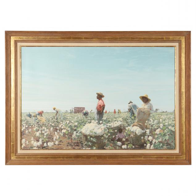 arthur-weaver-1918-2008-i-picking-cotton-in-texas-i