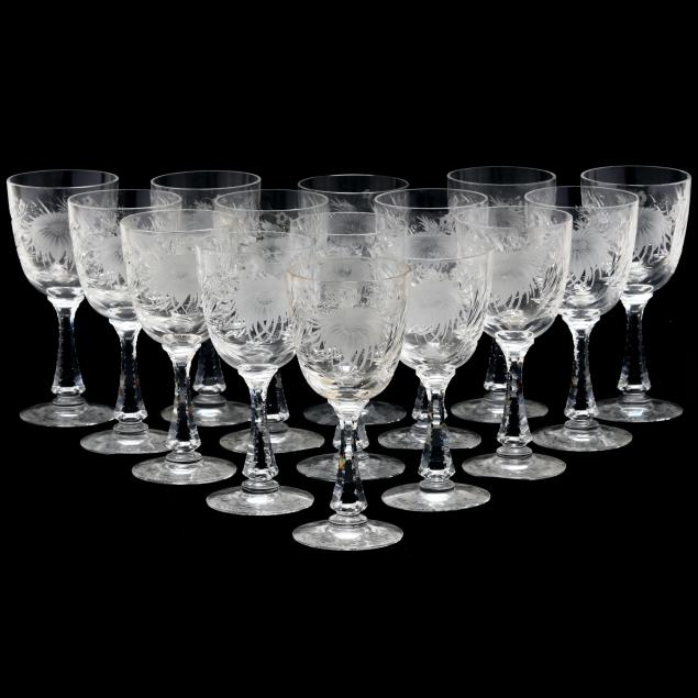 hawkes-set-of-15-i-chrysanthemum-i-water-goblets