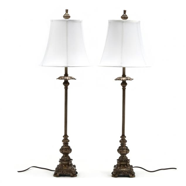 pair-of-classical-style-columnar-table-lamps