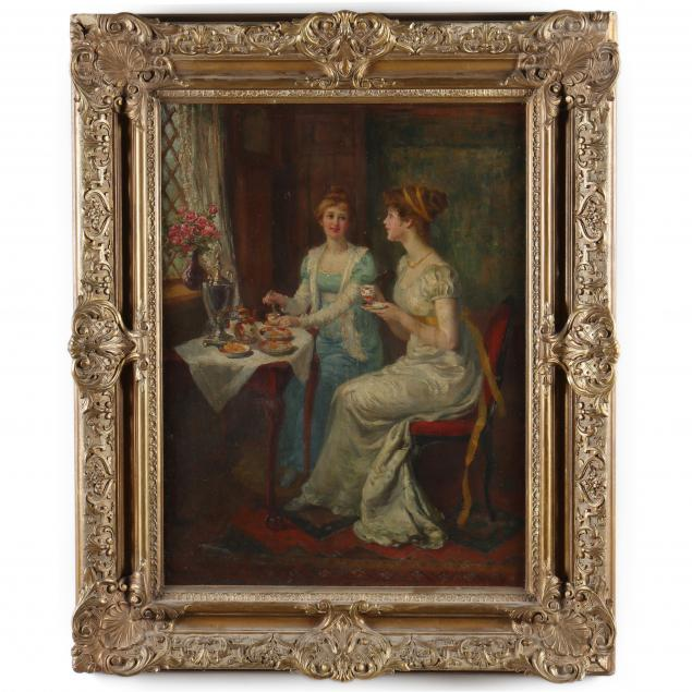 carl-hirschberg-german-american-1854-1923-tea-time