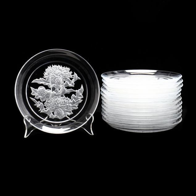 vinardi-twelve-engraved-crystal-floral-art-plates