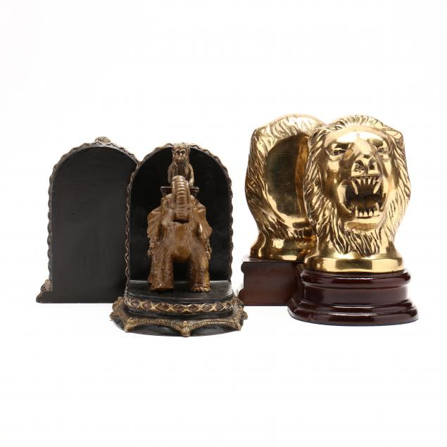 two-pair-of-figural-bookends