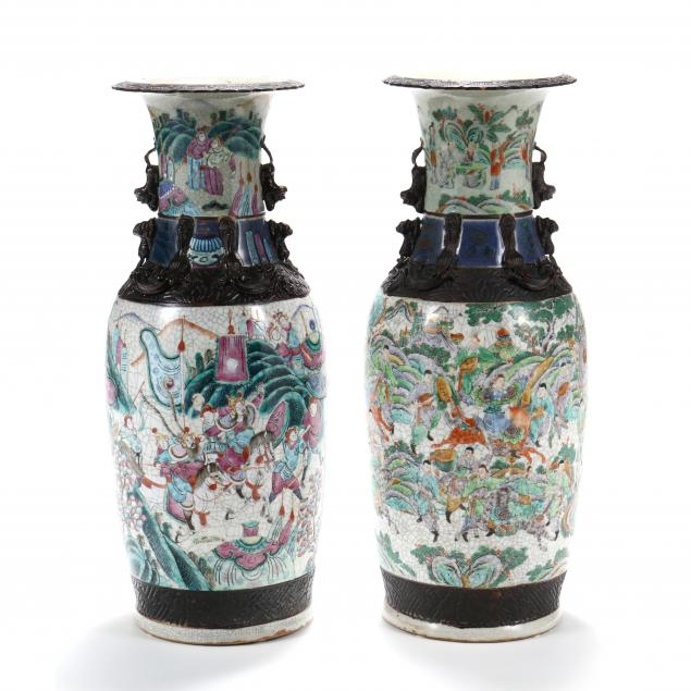 a-near-pair-of-chinese-crackleware-warrior-floor-vases