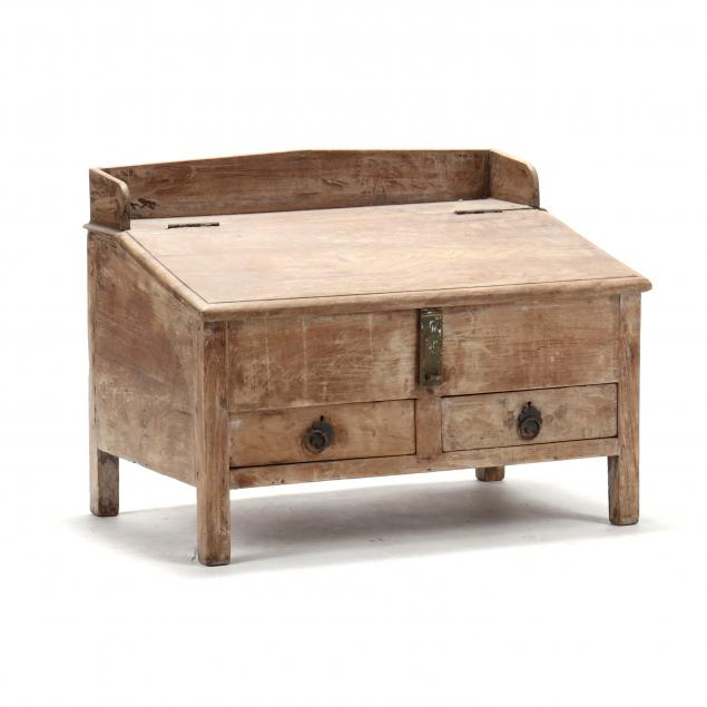 antique-southeast-asian-teak-low-desk