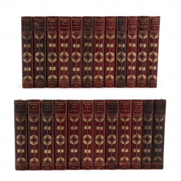thackeray-s-works-in-twenty-four-conforming-volumes