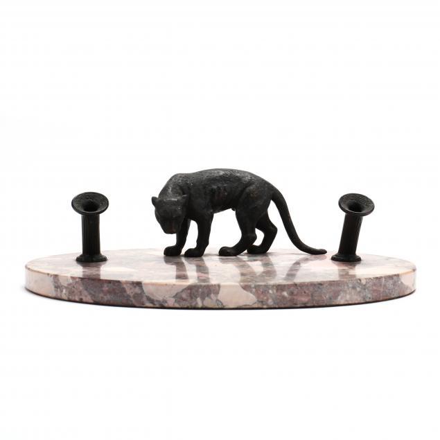 bronze-and-hardstone-figural-inkstand