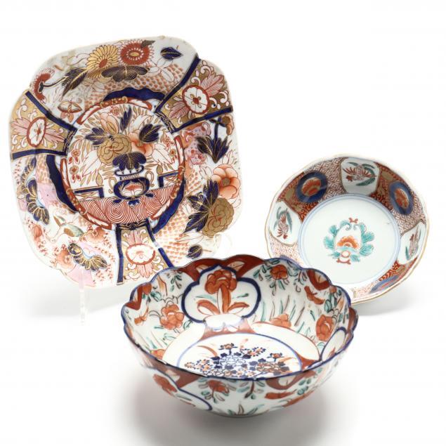 a-group-of-antique-imari