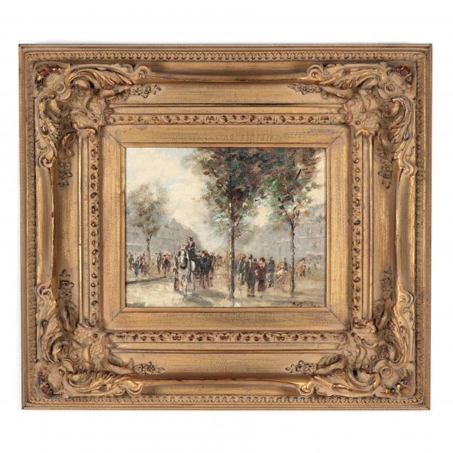 andre-gisson-american-1921-2003-paris-promenade