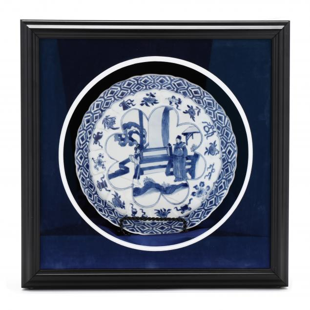 a-chinese-porcelain-blue-and-white-plate-in-presentation-box