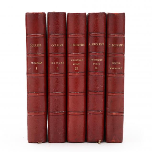 five-tauchnitz-editions-from-his-collection-of-british-authors