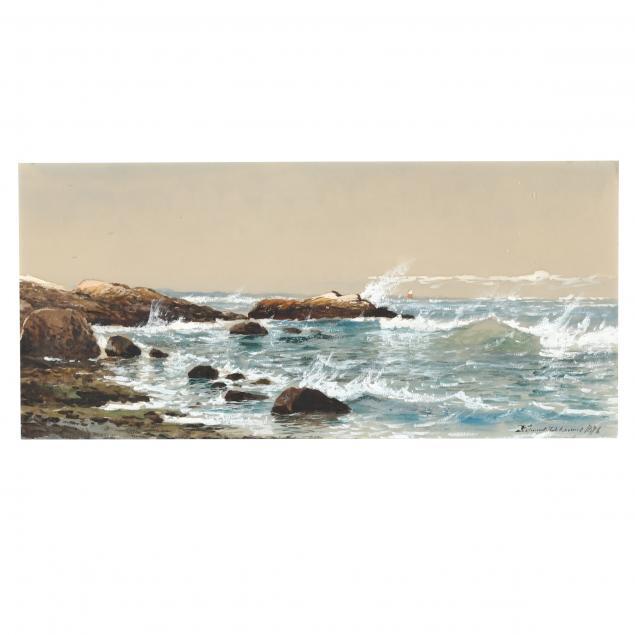 edmund-darch-lewis-american-1835-1910-crashing-surf