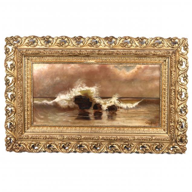 peter-moran-american-1841-1914-crashing-surf