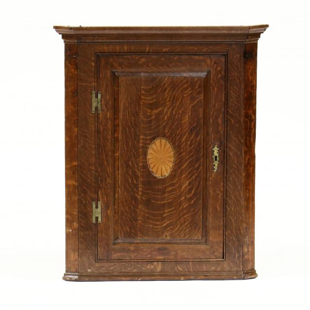 george-iii-inlaid-oak-hanging-corner-cupboard