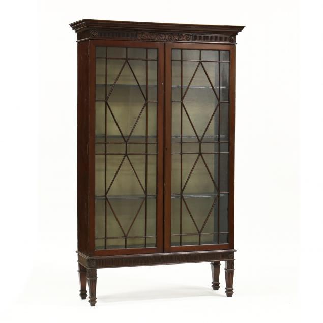 edwardian-carved-mahogany-bookcase