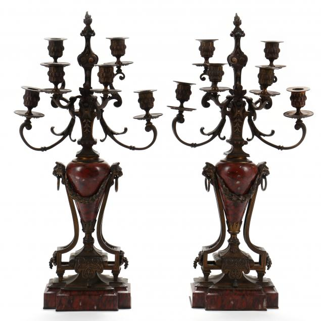 pair-of-continental-neoclassical-style-bronze-and-marble-candelabra