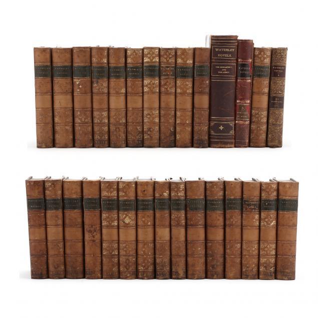 29-volumes-of-sir-walter-scott-s-waverly-novels
