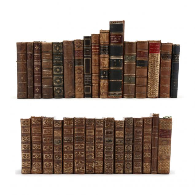 31-continental-18th-and-19th-century-leatherbound-books
