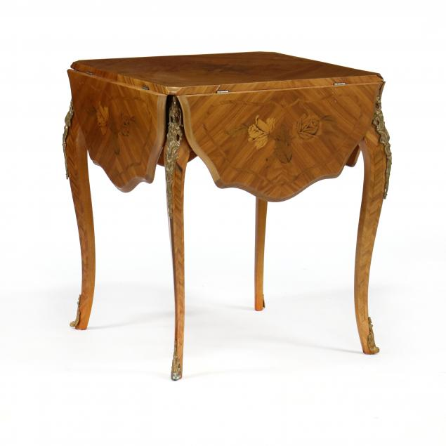 french-marquetry-inlaid-drop-leaf-table