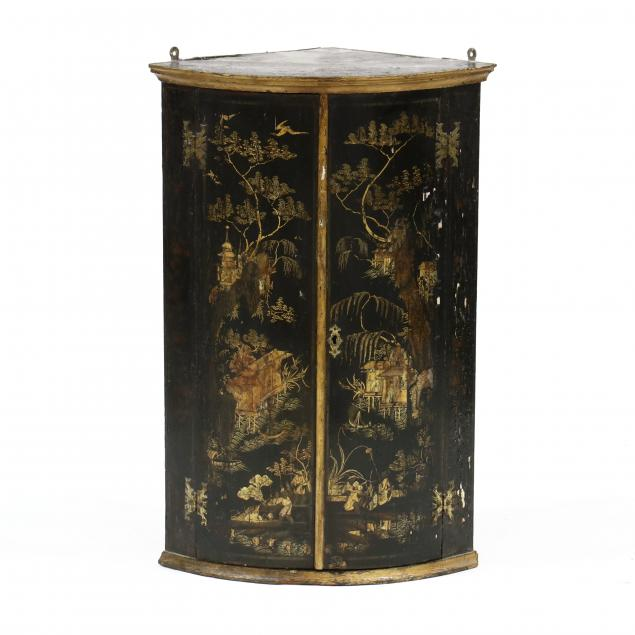 antique-english-chinoiserie-lacquered-hanging-corner-cabinet