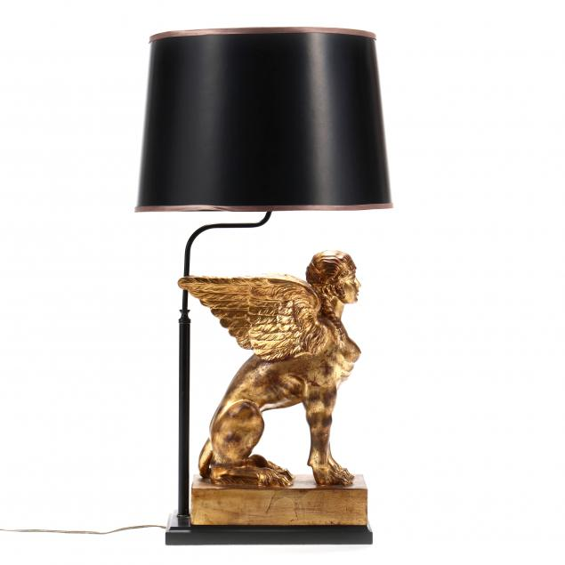 gilt-sphinx-table-lamp
