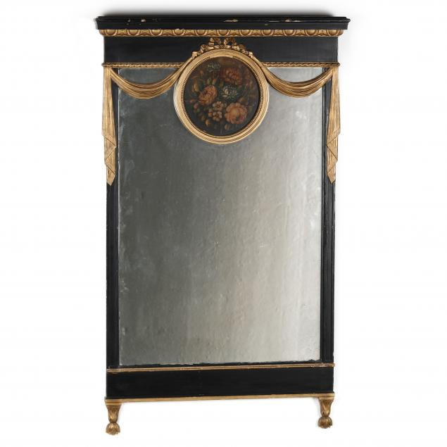 neoclassical-style-painted-mirror