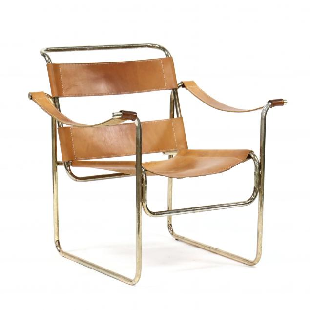 vintage-steel-and-leather-armchair